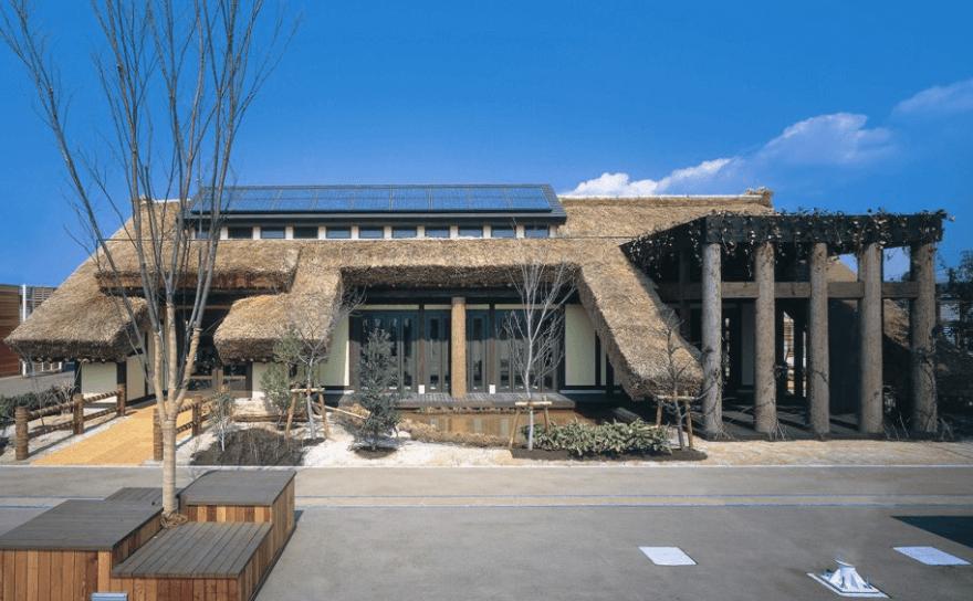 東新住建が提案した「愛・地球博」のウェルカムハウス